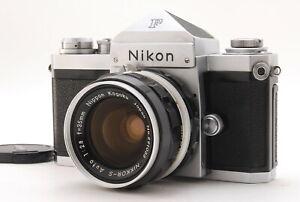 [N MINT+++ S/N:712xxxx] Nikon F Eye Level 35mm SLR Camera + 35mm f2.8 Lens JAPAN