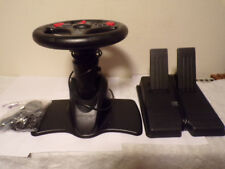V3 Interact Steering Wheel & Pedals For Play Station 1