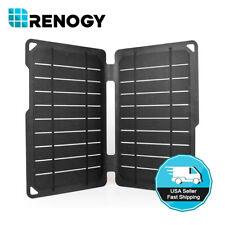 Renogy E.FLEX 10 Watt Mono Solar Panel Portable 10W 5V USB Battery Charger Phone