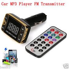 MP3 Player Wireless Transmitter Modulator Car Kit USB SD TF MMC LCD Remote FM