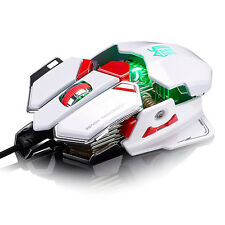 Hot 4000DPI 10D LED Sword Master Optical Wired Gaming Mouse For DotA FPS PC