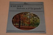 SCHUBERT SINFONIA 9  LP-CLASSICA FONTANA ITALY  LAMINATA AUDIOFILI TOP  NM