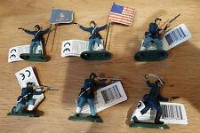 Britains Nordstaaten zu Fuß, neu, ACW, Federal soldiers, 17828, Civil War Union