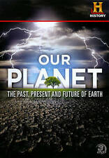 Our Planet: The Past, Present and Future of Earth (DVD, 2011, 3-Disc Set)