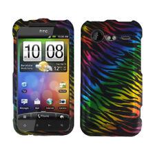 HTC INCREDIBLE2 6350 VERIZON GRAPHIC CASE RAINBOW ZEBRA