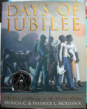 Days of Jubilee: The End of Slavery in the United States * Hardcover, VGC
