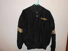 Vintage 80's Pittsburgh Steelers Starter Authentic Pro Line Pullover L Large