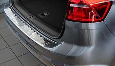Edelstahl Ladekantenschutz mit Abkantung für VW Golf Sportsvan 2014-2017