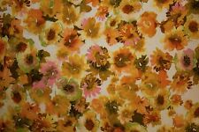 Multicolor Floral Print #4 100% Cotton Lawn Apparel Sewing Fabric BTY