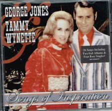 "GEORGE JONES TAMMY WYNETTE New CD ""SONGS OF INSPIRATION"" 26 SONGS Country Gospel"