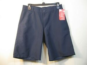 NWT Chaps Boys Performance Engineering Navy Blue School Shorts Style C861046H
