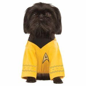 Star Trek Original Series Licensed Classic Captain Kirk Dog Costume SM MD LG XL