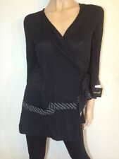 Nylon Long Sleeve Wrap Hand-wash Only Tops & Blouses for Women