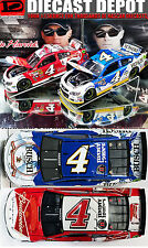 KEVIN HARVICK FIRST & LAST BUDWEISER & BUSCH BEER 2-CAR COMBINATION DEAL 1/24