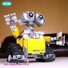 DIY Robot WALL E Modellbau Minifigure Roboter Baukasten Spielzeug Kinder Gehirn