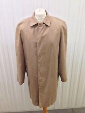 "Mens Vintage Jonelle Trench Coat - 44"" Chest - Beige - Great Condition"