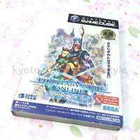 USED Gamecube PHANTASY STAR ONLINE EPISODE I & II Limited Edition 70058JP IMPORT
