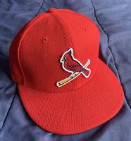 St. Louis Cardinals MLB New Era Spring Training 2016 59FIFTY 7 3/8 Flat Bill