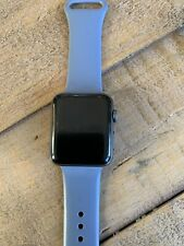 Apple Watch Series 3 38mm Space Grey Aluminium Case with Grey Sport Band (GPS +