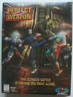 PERFECT WEAPON PC CD ROM GAME NEW SEALED