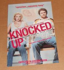 Knocked Up Movie Poster Original 15x11 Seth Rogen Katherine Heigl