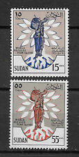 Sudan , 1967 , World Refugee Year, Set Of 2 Stamps , Perf , Mnh