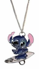 "Disney's Lilo and Stitch Surfboarding Pendant Necklace with 20"" Chain"