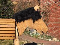 Holzpferd beweglicher Kopf ca.105 cm mit beweglichen Ohren- wetterfest lasiert