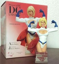 """DC Direct Women Of The DC Universe Series 1 """"Power Girl"""" Bust Statue 2007"""