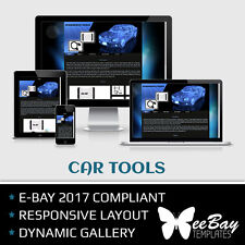 Auction Listing Template Professional Responsive eBay 2017 New Design CARS 43