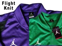 NIKE JORDAN FLIGHT KNIT TRACK JACKET MEN'S GREEN PURPLE BURGUNDY BASKETBALL