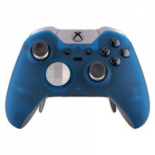 Foggy Blue Soft Touch Top Housing Shell Faceplate for Xbox One Elite Controller