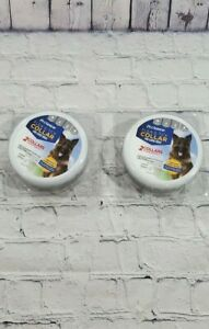 NEW LOT OF 2 PETARMOR 2 Count Flea & Tick Collar for Dogs Large