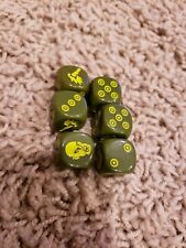 Zombicide: Green Horde - Green Dice used