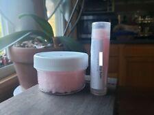 2 piece Vanilla Lovers Lip Set- Vanilla Mint Lip Balm & Vanilla Lip Sugar Scrub