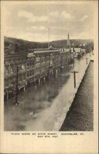 Montpelier VT 1927 Flood Damage VINTAGE EXC COND Postcard #4