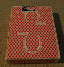Binion'S Horseshoe Hotel Casino Playing Cards Deck ~ used in actual play