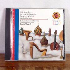 Lorin Maazel Tchaikovsky Prokofiev CD Album CBS Masterworks DDD playgraded