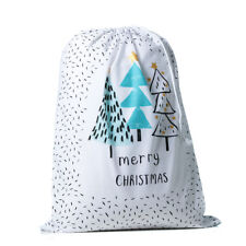 ADAIRS set of 2 Santa sacks CHRISTMAS TREES & EXPRESS DELIVERY 50x70cms stocking