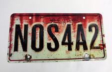 Joe Hill Author Signed Autograph NOS4A2 License Plate