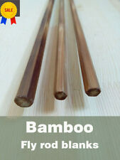 """bamboo fly rods blanks(NEW) Orvis Midge 7'6""""x2pc  3/4wt (flamed)"""