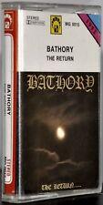 """Bathory """"The Return"""" Rare Polish Cassette! Excellent condition!"""