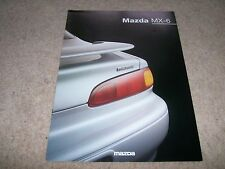 Mazda MX-6 Brochure 1997 - 9/96 issue