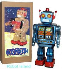 ME100 Robot Mr. D-Cell Electron Robot Tin Toy Battery Operated