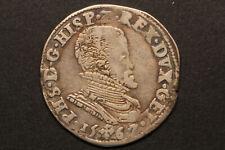 Netherlands / Gelderland - 1/5 philipsdaalder 1567 *quality - nice toning* (#62)
