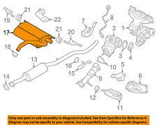 VOLVO OEM 15-17 XC60 2.0L-L4-Exhaust Muffler-Rear 31392546