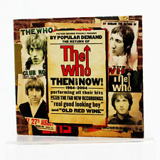 The Who - Then And Now - Music CD Album - Good Condition - Digipak