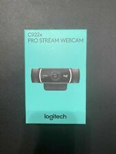 Logitech C922X Pro Stream Webcam - Black FULL HD FAST SHIPPING
