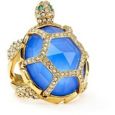 KATE SPADE 14k Gold Plated Paradise Found Turtle Ring SIZE 6 $98 NEW