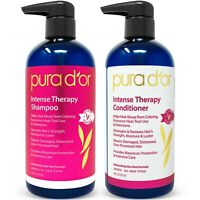 PURA D'OR Dor Intense Therapy Shampoo & Conditioner Hair Repair System